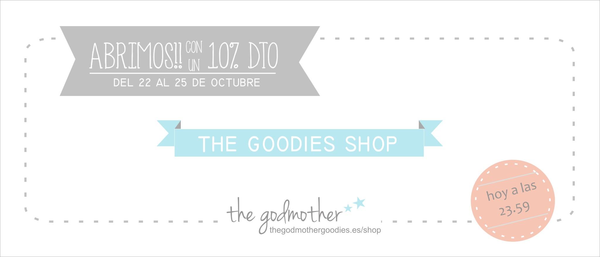 the goodies shop- reapertura