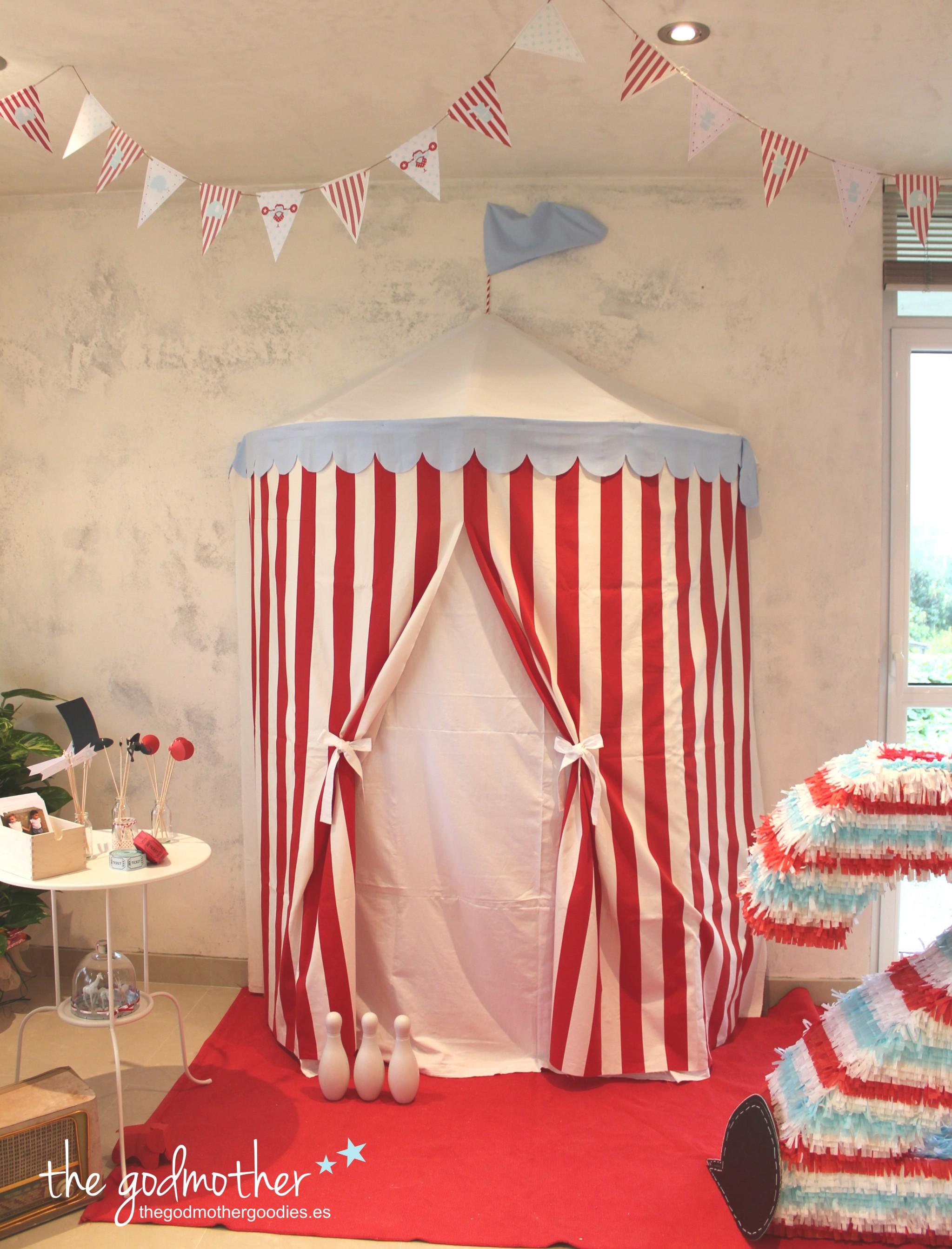 cumpleaños infantil circo