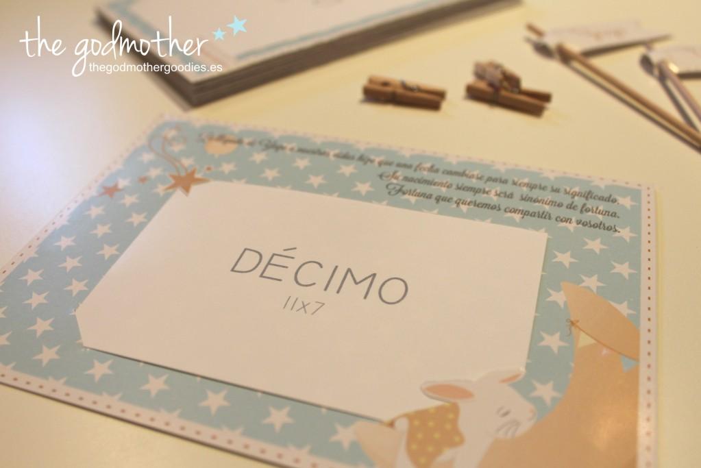 tarjeta regalo personalizada- recordatorio bautizo