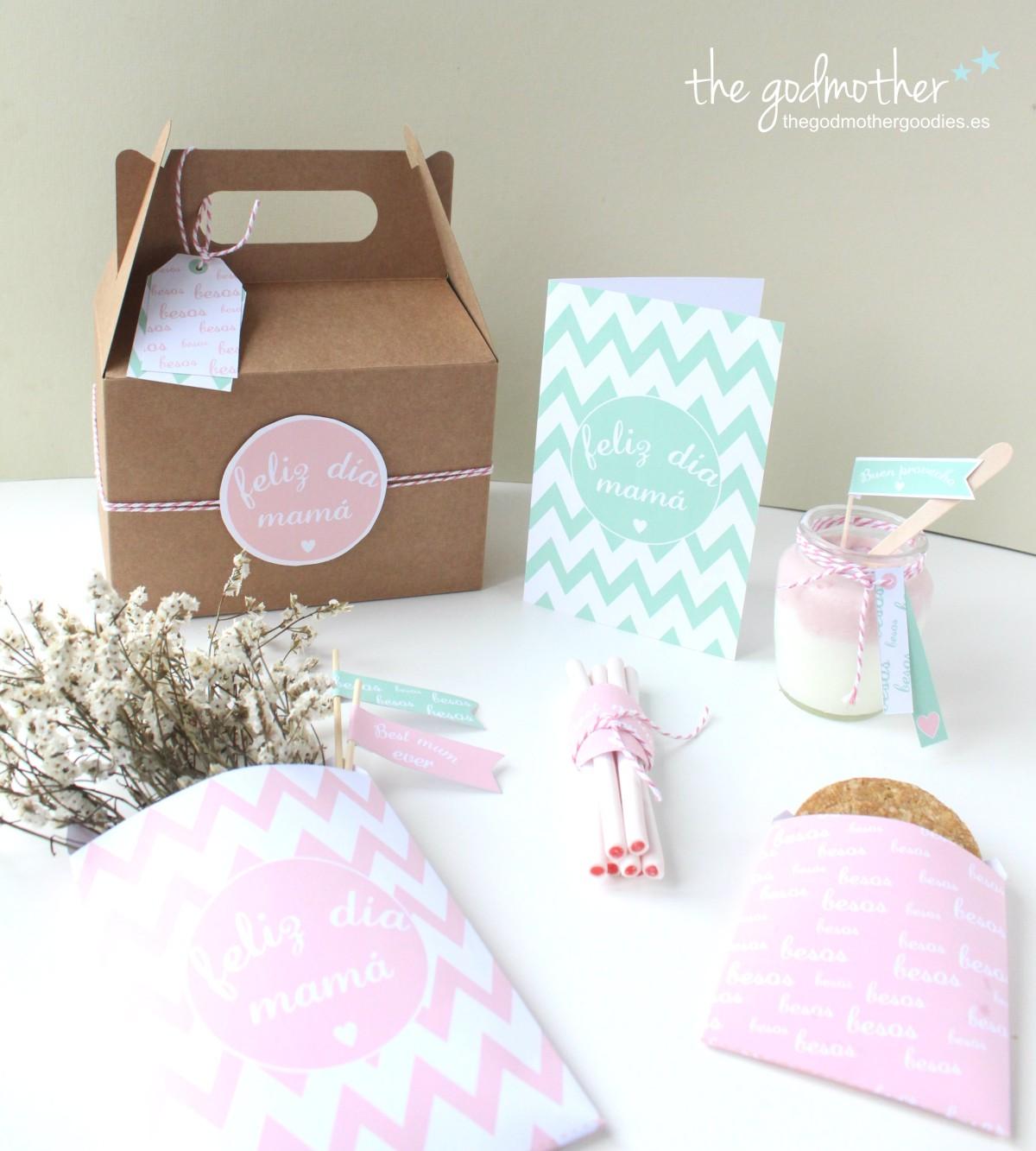 imprimible día de la madre - regalo día de la madre - kit día de la mandre 6