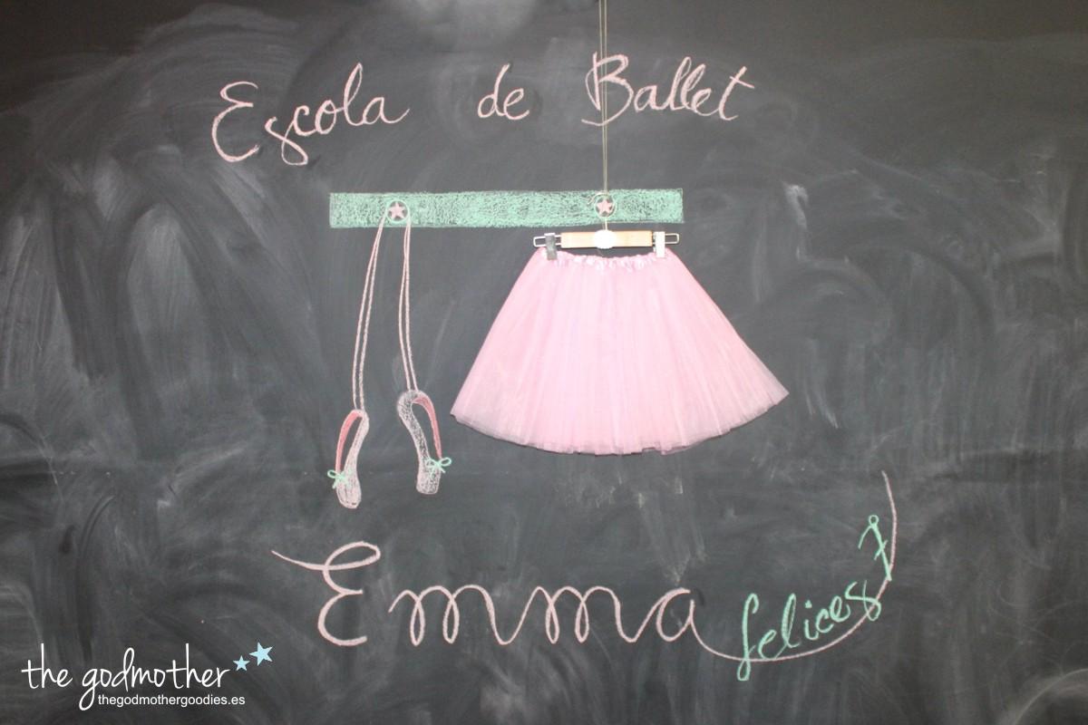 cumpleaños ballet-cumpleaños bailarina - ballet birthday party- cumpleaños temático